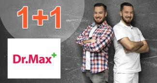 DrMax.sk zľavový kód zľava 1+1, kupón, akcia