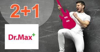 DrMax.sk zľavový kód zľava 2+1, kupón, akcia