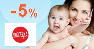 Drogerka.sk zľavový kód zľava -5%, kupón, akcia