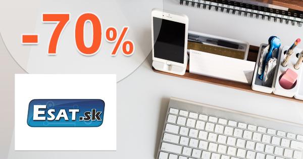Esat.sk zľavový kupón na zľavy a akcie až -70%