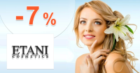 ETANI.sk zľavový kód zľava -7%, kupón, akcia