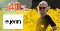 Eyerim.sk zľavový kód zľava -40%, kupón, akcia