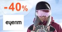 Eyerim.sk zľavový kód zľava -60%, kupón, akcia, výpredaj na lyžiarské okuliare