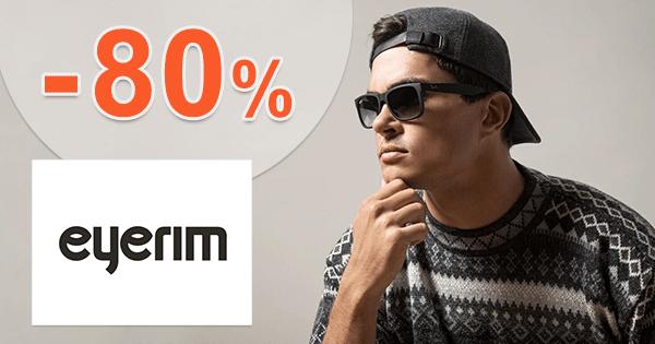 Eyerim.sk zľavový kód zľava -80%, kupón, akcia, výpredaj na okuliare
