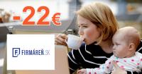 Firmaren.sk zľavový kód zľava -22€, kupón, akcia