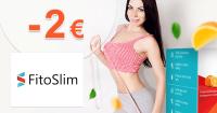 FitoSlim.sk zľavový kód zľava -2€, kupón, akcia
