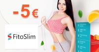 FitoSlim.sk zľavový kód zľava -5€, kupón, akcia