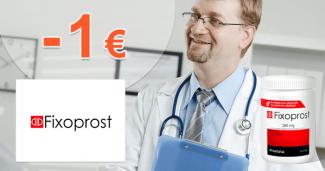 FixoProst.sk zľavový kód zľava -1€, kupón, akcia