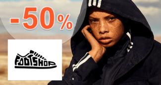 FootShop.sk zľavový kód zľava -50%, kupón, akcia, výpredaj, zľavy, dámske oblečenie