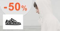 FootShop.sk zľavový kód zľava -50%, kupón, akcia, výpredaj, zľavy, pánske oblečenie