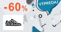 FootShop.sk zľavový kód zľava -60%, kupón, akcia, výpredaj, zľavy