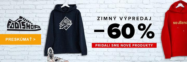 Zimný výpredaj na FootShop.sk