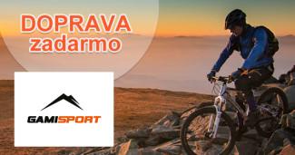 GamiSport.sk doprava zadarmo, akcia, zľava, kupón