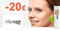 GigaLash.sk zľavový kód zľava -20€, kupón, akcia