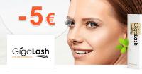 GigaLash.sk zľavový kód zľava -5€, kupón, akcia