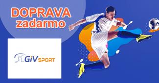 GIVsport.sk doprava zadarmo, akcia, zľava, kupón