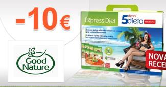 GoodNature.sk zľavový kód zľava -10€, kupón, akcia