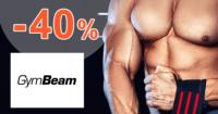 GymBeam.sk zľavový kód zľava -40%, kupón, akcia, výpredaj, zľavy, fitness príslušenstvo