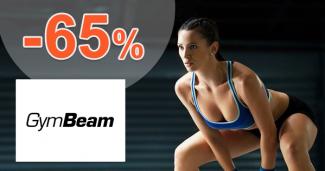 GymBeam.sk zľavový kód zľava -65%, kupón, akcia, výpredaj