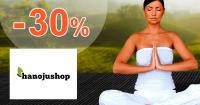 HanojuShop.sk zľavový kód zľava -30%, kupón, akcia, výpredaj
