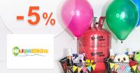 Heliumking.sk zľavový kód zľava -5%, kupón, akcia