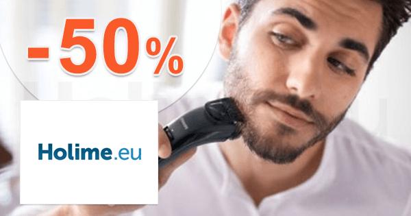 Holime.eu zľavový kód zľava -50%, kupón, akcia, výpredaj