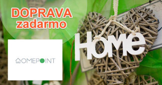 HomePoint.sk doprava zadarmo, akcia, zľava, kupón