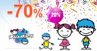 Hrackarik.sk zľavový kód zľava -70%, kupón, akcia, výpredaj