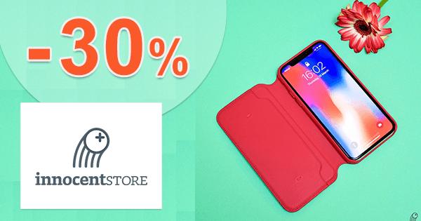 InnocentStore.sk zľavový kód zľava -30%, kupón, akcia, akcie, zľavy