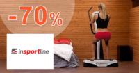 inSPORTline.sk zľavový kód zľava -70%, kupón, akcia, výpredaj, zľavy