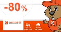 KokiskaShop.sk zľavový kód zľava -80%, kupón, akcia, výpredaj