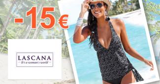 Lascana.sk zľavový kód zľava -15€, kupón, akcia
