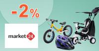 Market24.sk zľavový kód zľava -2%, kupón, akcia