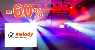 MelodyShop.sk zľavový kód zľava -60%, kupón, akcia, akcie, zľavy, výpredaj