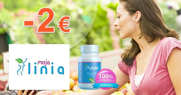 MojaLinia.sk zľavový kód zľava -2€, kupón, akcia