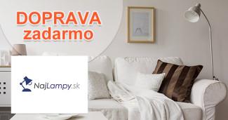 NajLampy.sk doprava zadarmo, akcia, zľava, kupón