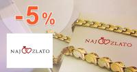 NajZlato.sk zľavový kód zľava -5%, kupón, akcia