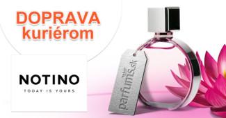 Notino.sk = Parfums.sk doprava kuriérom, akcia, zľava, kupón