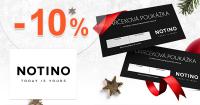 Notino.sk zľavový kód zľava -10%, kupón, akcia