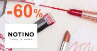 Notino.sk zľavový kód zľava -60%, kupón, akcia