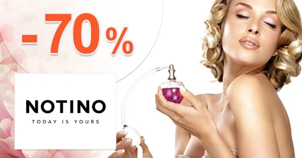 Notino.sk zľavový kód zľava -70%, kupón, akcia, výpredaj