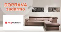 NovyNabytok.sk doprava zadarmo, akcia, zľava, kupón
