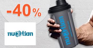 Nu3tion.com zľavový kód zľava -40%, kupón, akcie