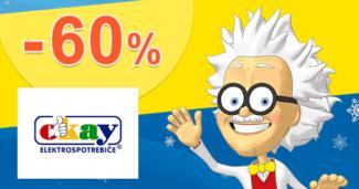 Zľavy až -60% na veľké spotrebiče na Okay.sk