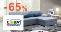 Okay.sk zľavový kód zľava -65%, kupón, akcia, výpredaj, zľavy na nábytok