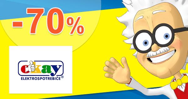 Obývacie izby až -70% zľavy a akcie na Okay.sk