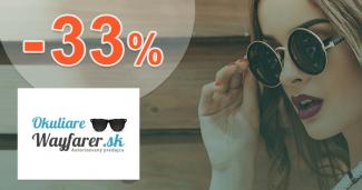 OkuliareWayfarer.sk zľavový kód zľava -33%, kupón, akcia, výpredaj
