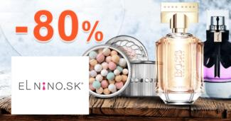 Parfemy-ELNINO.sk zľavový kód zľava -80%, kupón, akcia, výpredaj, akcie