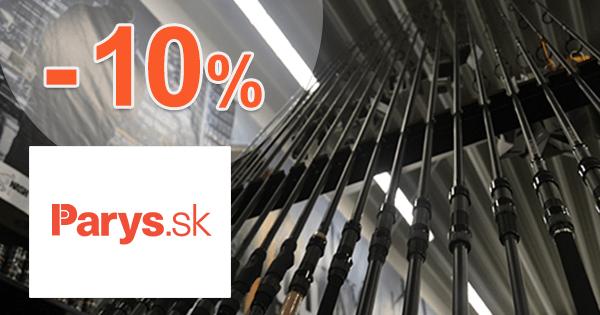 Parys.sk zľavový kód zľava -10%, kupón, akcia, výpredaj