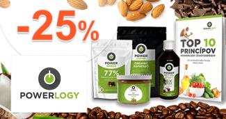 PowerLogy.com zľavový kód zľava -25%, kupón, akcie